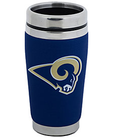 Hunter Manufacturing Los Angeles Rams 16 oz. Stainless Steel Travel Tumbler