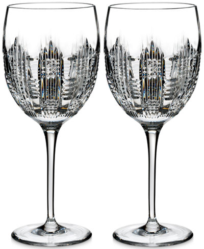Waterford Essentially Dungarvan Goblet Glasses, Set of 2