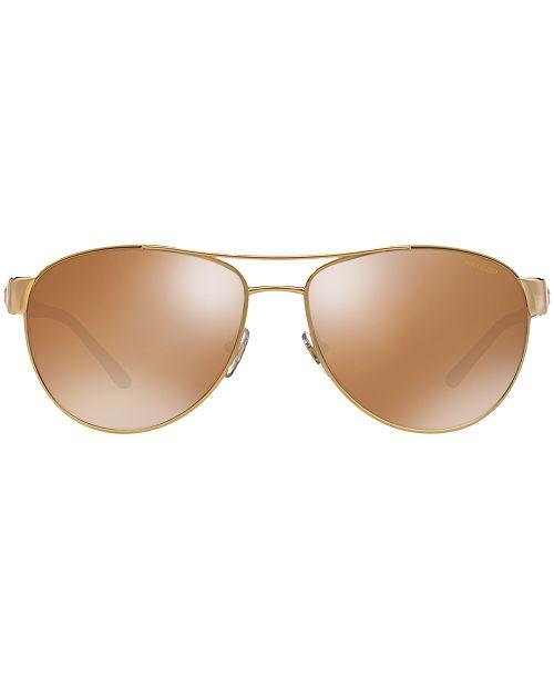 54c1fc52af0c Versace Polarized Sunglasses, VE2145 & Reviews - Sunglasses by ...