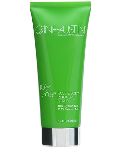 Cane+Austin Face and Body Retexture Scrub, 6.7 oz