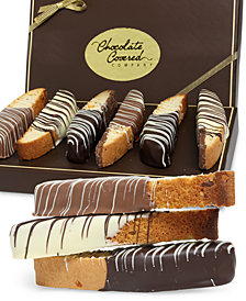 Chocolate Covered Company  12-Pc. Belgian Chocolate Dipped Biscotti Assortment