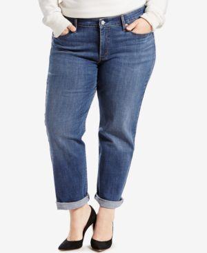Image of Levi's Plus Size Boyfriend Jeans