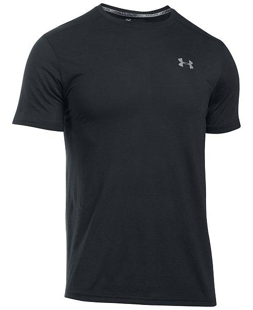 f72df127f Under Armour Men's Streaker Threadborne T-Shirt & Reviews - T-Shirts ...