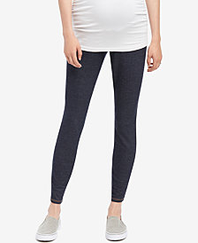 Motherhood Maternity Denim Leggings