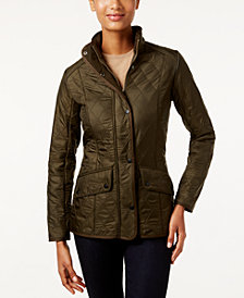 Barbour Cavalry Polarquilt Quilted Utility Jacket Coat