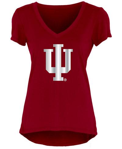 Blue 84 Women's Indiana Hoosiers Big Foil T-Shirt