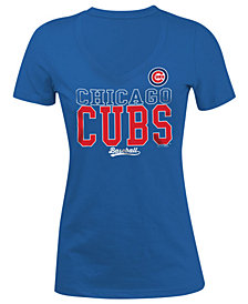 5th & Ocean Women's Chicago Cubs Lineup T-Shirt