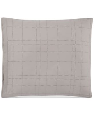 Modern Plaid  European Shams, Set of 2, Created for Macy's
