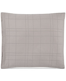 Hotel Collection Modern Plaid  European Shams, Set of 2, Created for Macy's