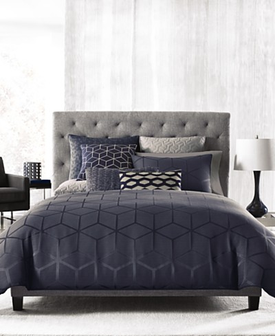 Hotel Collection Cubist Duvet Covers, Created for Macy's