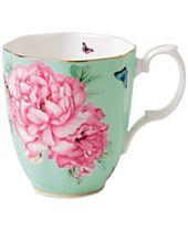 Miranda Kerr for Royal Albert Friendship Vintage Green Mug