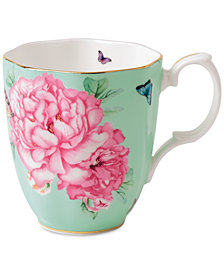 Miranda Kerr for Royal Albert Friendship Vintage Green Mug