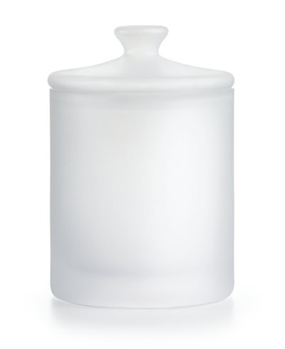 CLOSEOUT! Hotel Collection Medium Frosted Glass Jar, Created for Macy's