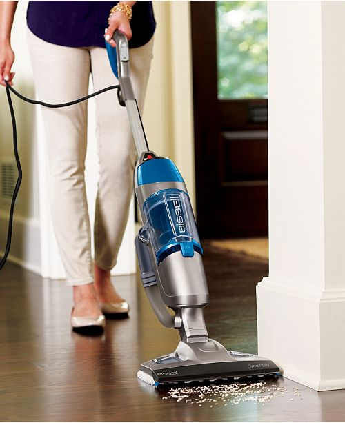 Bissell Symphony Vacuum Steam Mop Vacuums Floor Care Home