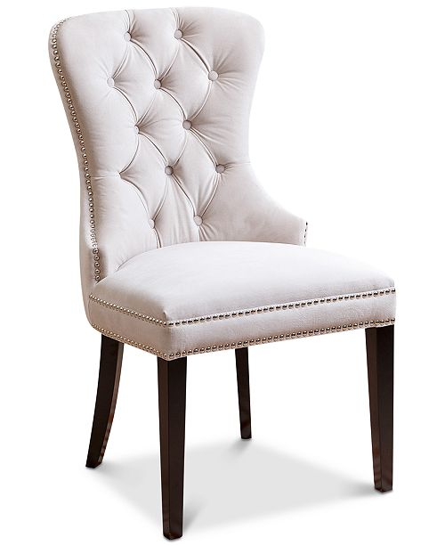 Abbyson Living Dyana Tufted Dining Chair Quick Ship