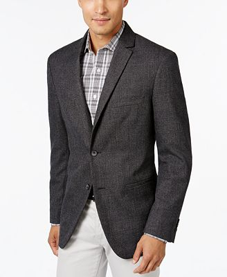 Alfani Men's Slim-Fit, Created for Macy's Textured Geo Sport Coat ...