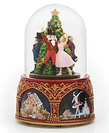 Roman Musical Nutcracker Ballet Snow Globe