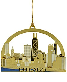Macy's Exclusive Chicago Skyline Ornament