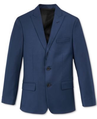 Big Boys Husky Stretch Suit Jacket