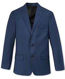 Calvin Klein Big Boys Husky Stretch Suit Jacket