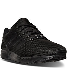 adidas Men's ZX Flux Eng Mesh Casual Sneakers from Finish Line