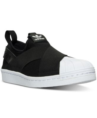 adidas Women\u0027s Superstar Slip-On Casual Sneakers from Finish Line