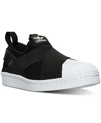 Adidas Superstar Slip-Ons Core Black/White G2l2036