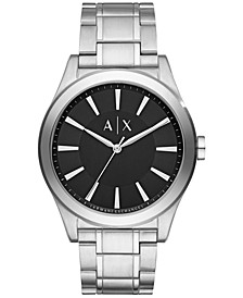 Men's Stainless Steel Bracelet Watch 44mm AX2320