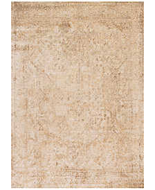 "Macy's Fine Rug Gallery Andreas   AF-15 Ivory/Light Gold 2' 7"" x 4' Area Rugs"