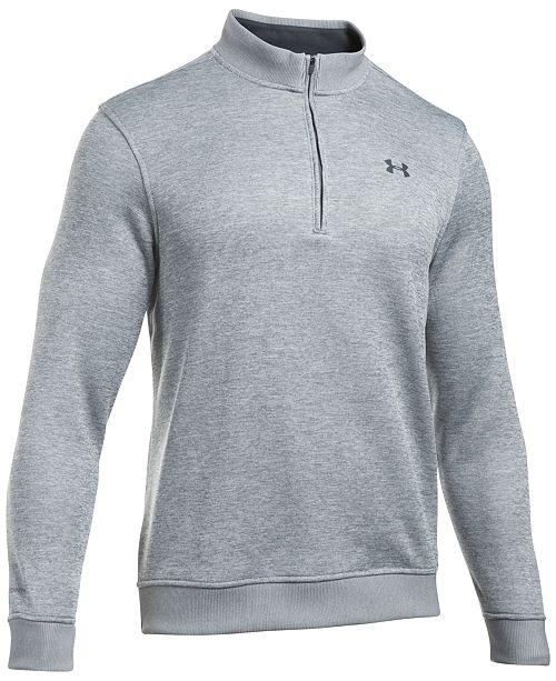 5711a4191f32 Under Armour Men s Quarter-Zip Storm-Fleece Sweater   Reviews ...