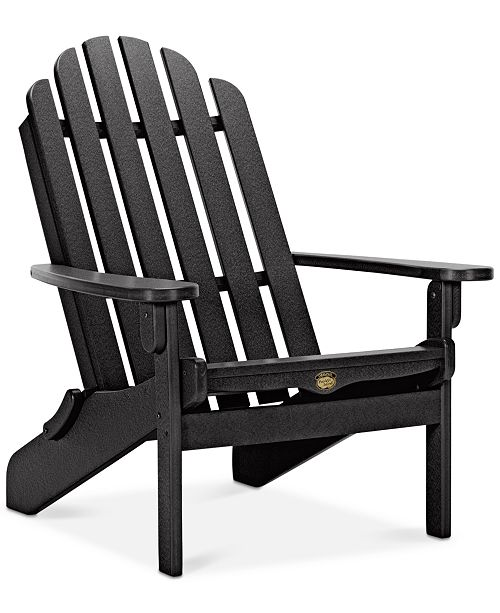 Furniture Essential Adirondack Folding Chair, Quick Ship