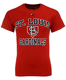 Majestic Men's St. Louis Cardinals Hit and Run T-Shirt