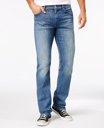 7 For All Mankind Men's Luxe Performance Slimmy Slim Straight-Leg ...
