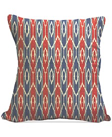 "Homewear Boho Ikat 20"" Square Decorative Pillows Collection"
