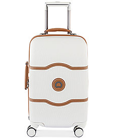 "Delsey Chatelet Plus 21"" Carry-On Hardside Spinner Suitcase"