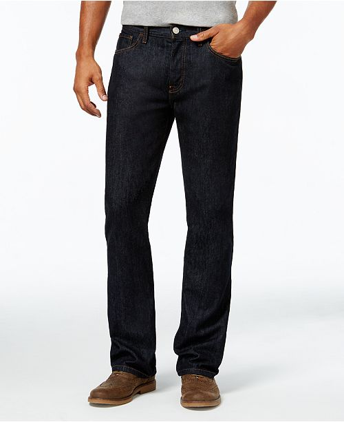 40a1b9c2b Tommy Hilfiger Men's Boot-Cut Jeans, Created for Macy's & Reviews ...