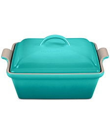 2.5-Qt. Turquoise Covered Casserole, Created for Macy's