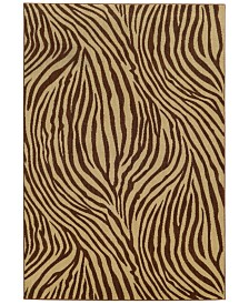 """CLOSEOUT! Tommy Bahama Home  Voyage 93N Beige 3' 10"""" x 5' 5"""" Area Rug"""