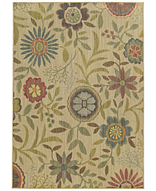 "Tommy Bahama Home Cabana Indoor/Outdoor 1330W Beige 7' 10"" x 10' 10"" Area Rug"