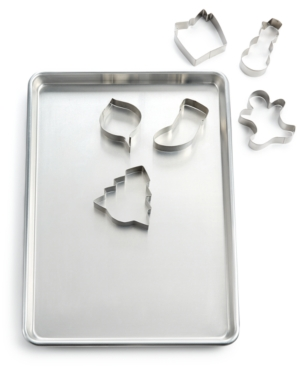 Martha Stewart Collection Cookie Sheet & Cutter Set, Only at