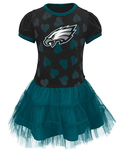 more photos 60096 cac35 Outerstuff Toddler Girls' Philadelphia Eagles Love to Dance ...