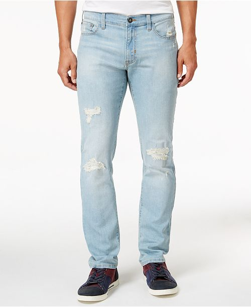 48077aeb3e7 ... Ring of Fire Men's Slim Fit Stretch Ripped Jeans, Created for Macy's ...