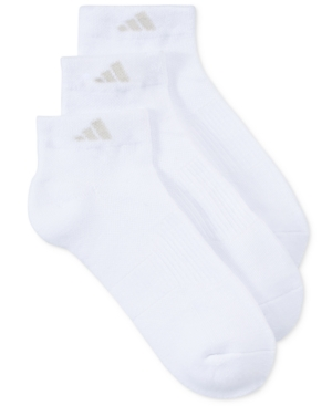 Image of Adidas Women's 3-Pk. Low-Cut Cushion Socks