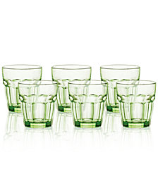 Bormioli Rocco Rock Bar Set of 6 Double Old Fashioned Glasses