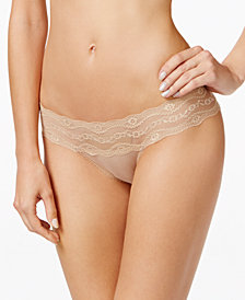 b.tempt'd by Wacoal b.adorable Lace-Waistband Bikini 932182