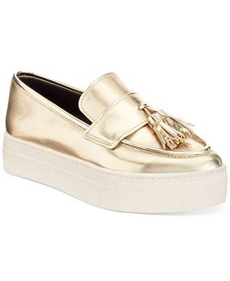 ALDO Women's Narcissa Flatform Tassel Loafers