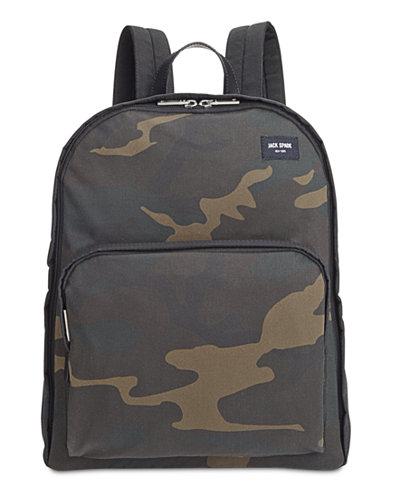 Jack Spade Men's Waxed Cotton Camo Backpack - Bags & Backpacks ...