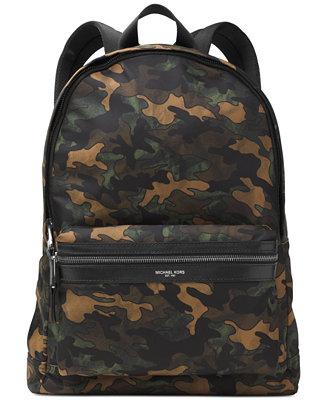 178ecf8ba311 Michael Kors Men's Kent Camo Lightweight Backpack & Reviews - Bags &  Backpacks - Men - Macy's