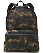 Michael Kors Men's Kent Camo Lightweight Backpack