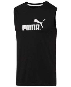 Puma Men's Logo Muscle Tank